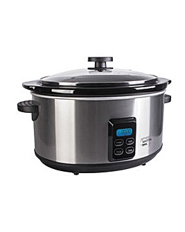 James Martin 4.7l Digital Slow Cooker