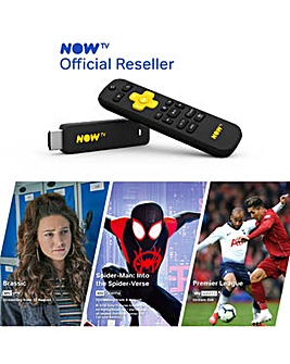 NOW TV Smart Stick Inc 3 Content Passes