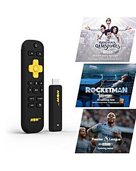 NOW TV Smart Stick Inc 3 Content Passes