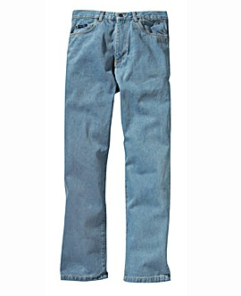 Straight Denim Jeans 33in