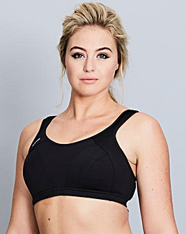 Shock Absorber Black Sports Bra