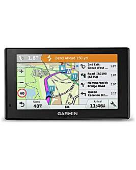 Garmin DriveSmart Sat Nav Uk Maps