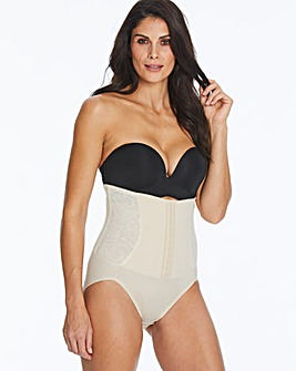 Maidenform Firm Foundation Latte Waist Nipping Briefs