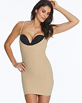 Maidenform Wear Your Own Bra Take Inches Off Latte Full Slip