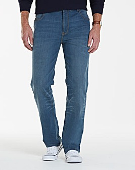 Lambretta Cyrus Stretch Jeans 29in