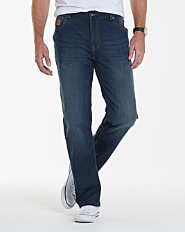 Lambretta Recharge Stretch Jeans 29in