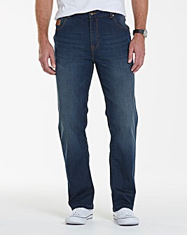 Lambretta Recharge Stretch Jeans 33in