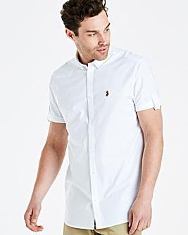 Luke Sport SS White Oxford Reg