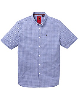 Luke Sport Gingham Stretch Shirt Reg