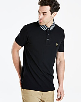 Luke Sport Stripe Collar Polo Reg