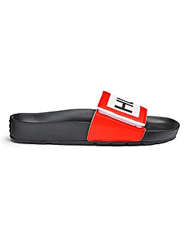 Hunter Mens Original Adjustable Slide Logo