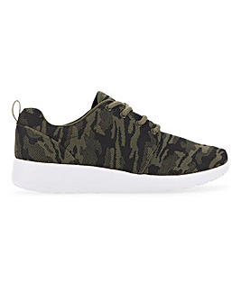 Harris Camo Trainer Extra Wide Fit