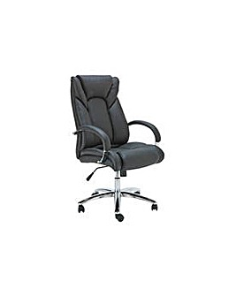 Leather Faced Office Chair