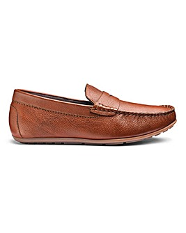 Leather Loafers Standard Fit