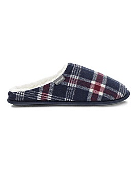 Dunlop Check Mule Slipper
