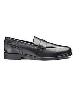 Leather Formal Loafers Extra Wide Fit
