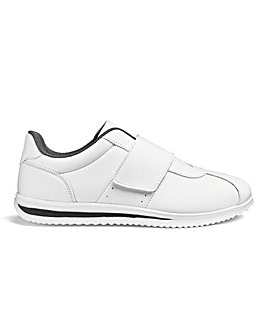 Cushion Walk Easy Fasten Trainers Wide Fit