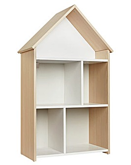 White & Acacia House Bookcase