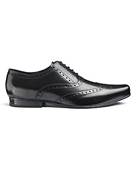 Formal Leather Brogues Standard Fit