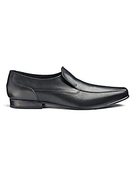 Formal Leather Slip Ons Standard Fit