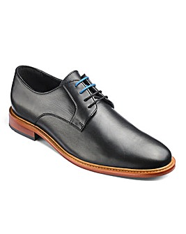 Leather Plain Gibson Derbys Wide Fit