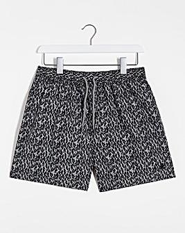 Leopard Print Swimshort
