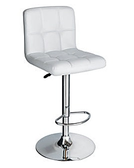 Nitro Bar Stool - White
