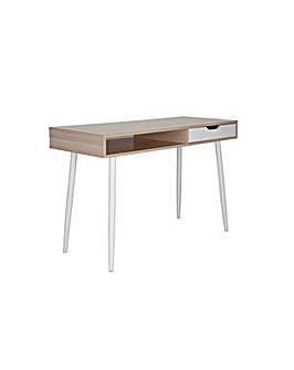 Wood Style Office Desk - Oak effect