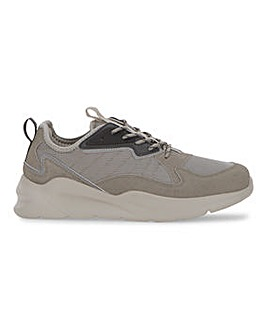 Taupe Fleck Trainer Wide Fit