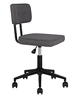 Habitat Industrial Office Chair - Grey