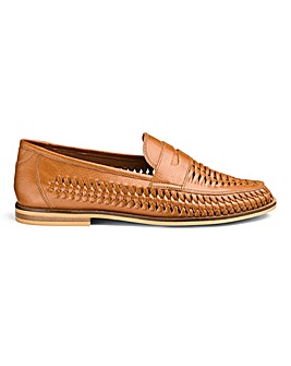 Interweave Loafers Standard Fit.