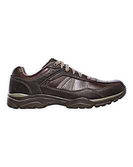 Skechers Rovato Texon Wide Fit Shoe