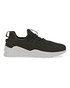 Stretch Knit Trainer Wide Fit