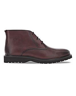 Bordo Leather Boot Wide