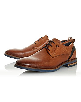Dune Browne Leather Shoe