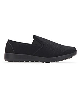 Hatton Lightweight Slip On Trainer Extra Wide Fit