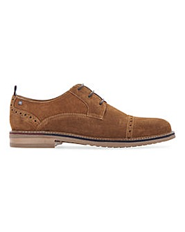 Ben Sherman Luke Suede Shoe Wide Fit