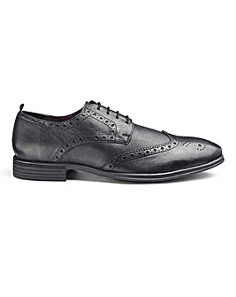 Soleform Leather Brogues Standard Fit.