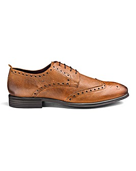 Soleform Leather Brogues Extra Wide Fit.