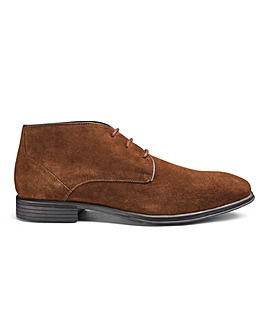 Soleform Suede Chukka Boot Extra Wide Fit