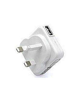 Veho Mains USB Charger for Apple/USB WH
