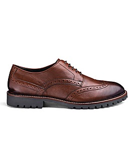 Leather Brogues Standard Fit