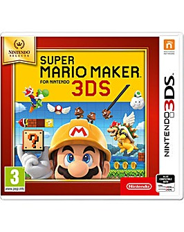 Super Mario Maker Selects Range 3DS
