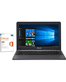 "Asus 11"" Intel 2GB 32GB Win10 Office 365"