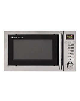 Russell Hobbs RHM2031 20L Digital Microwave with Grill - Stainless Steel