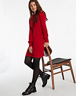 Cashmere Like Sweater Dress