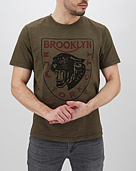 Brooklyn Jaguar Graphic T-Shirt Long