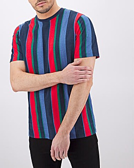 Vertical Stripe T-Shirt Long