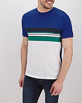 Rib Insert C&S Ringer T-Shirt Long
