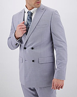 Lilac Harry Double Breasted Regular Fit Suit Jacket